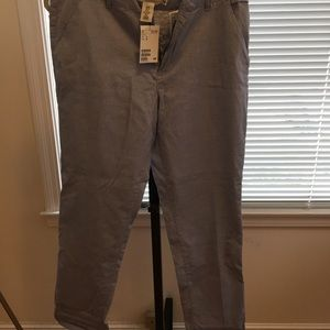 H&M blue/chambray pants